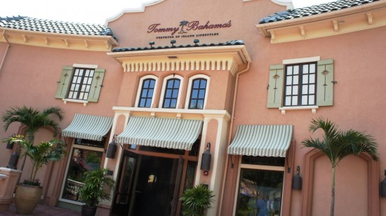 Tommy Bahama Tropical Cafe at Pointe Orlando on International Drive.