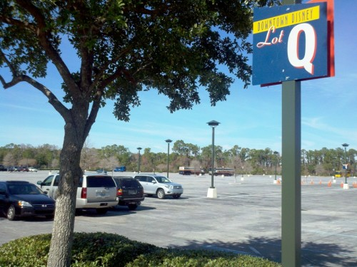 Downtown Disney Lot Q