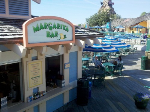 Downtown Disney Marketplace Margarita Bar
