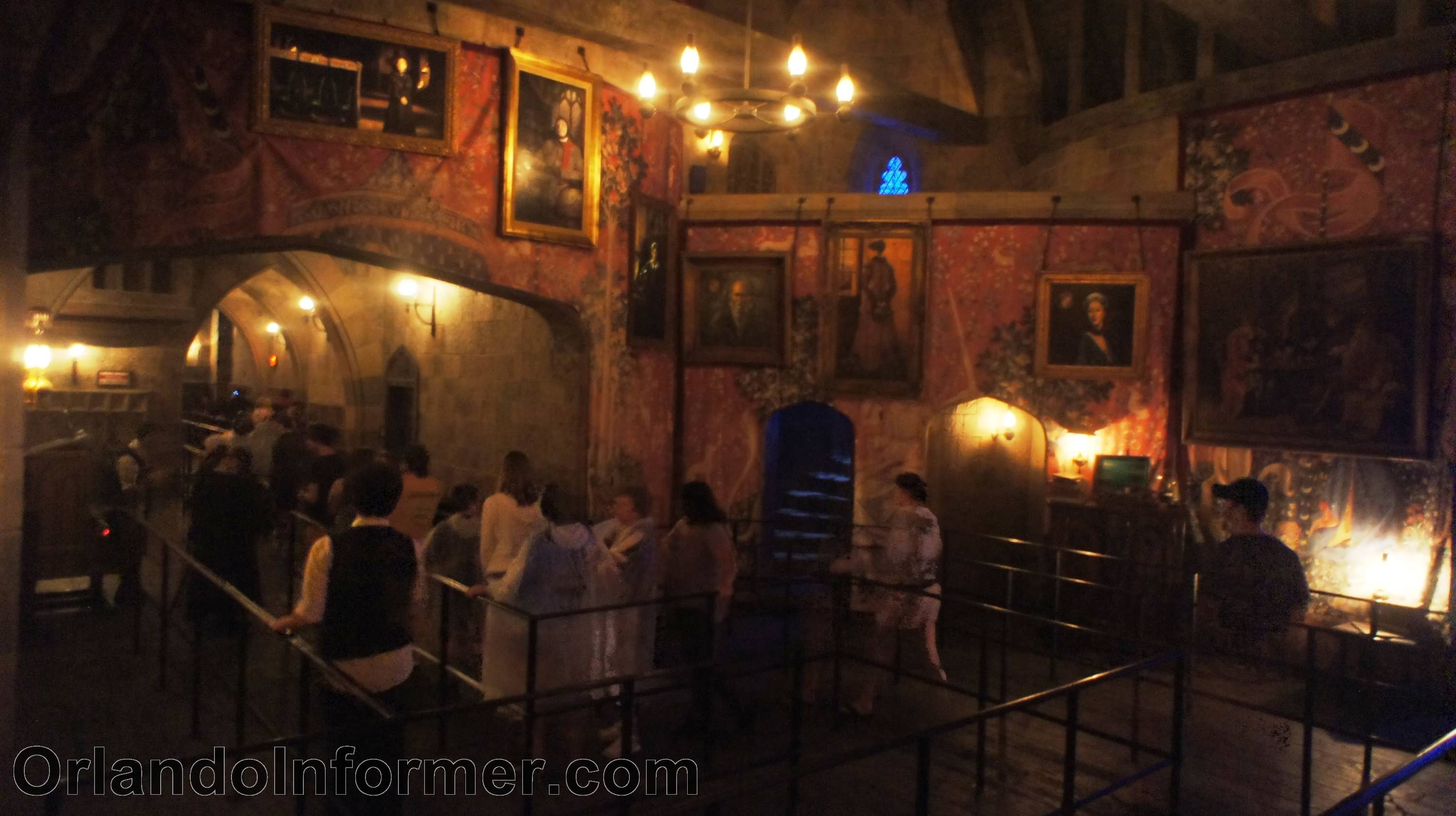 Harry Potter and the Forbidden Journey Gryffindor Common Room