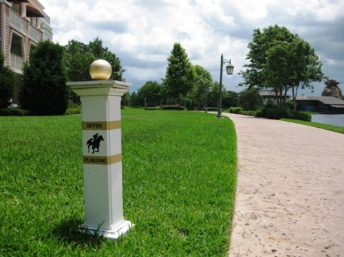 Saratoga Springs walkway