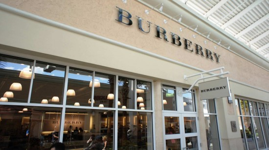 Orlando Premium Outlets Vineland Ave: Burberry.