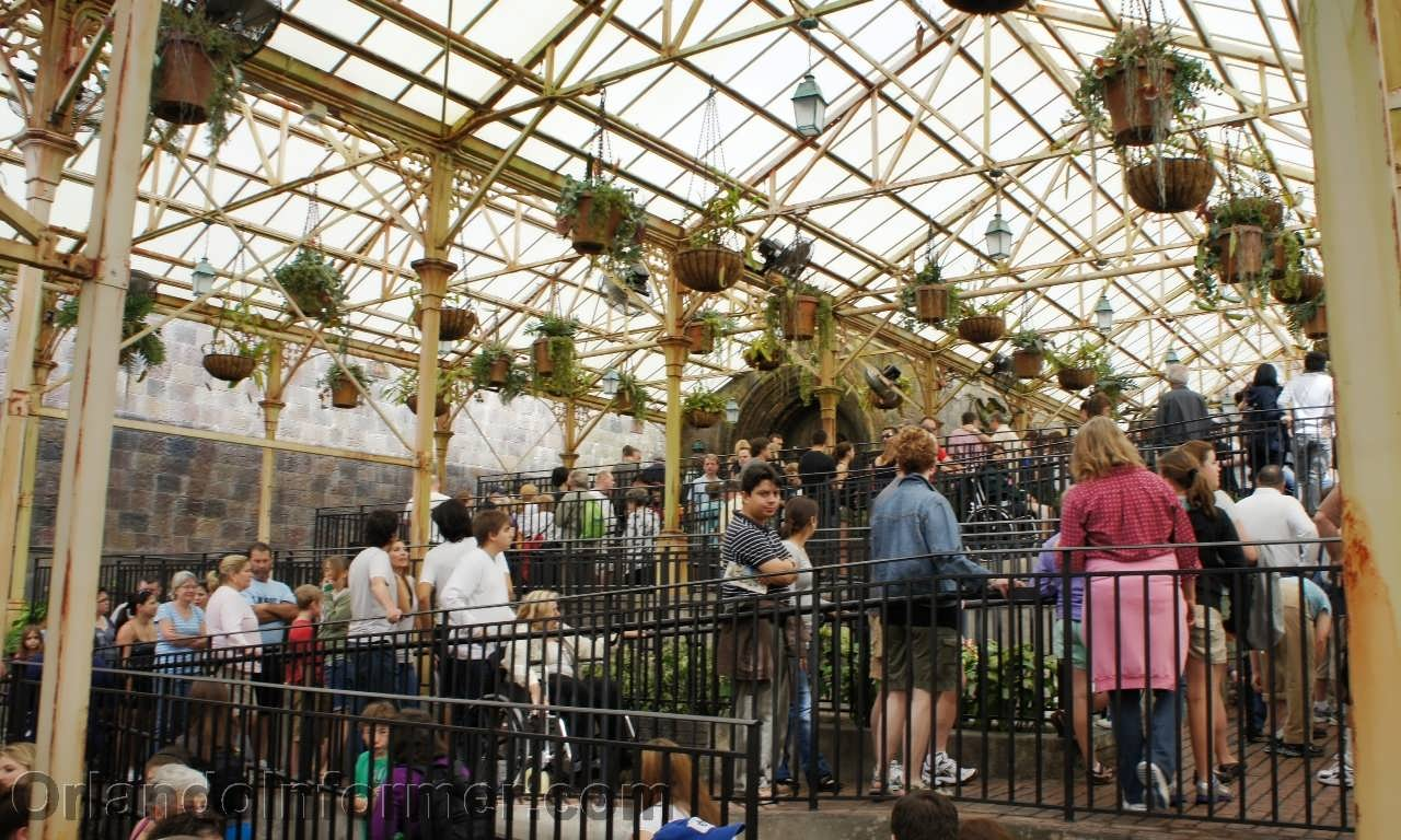 Harry Potter and the Forbidden Journey greenhouse