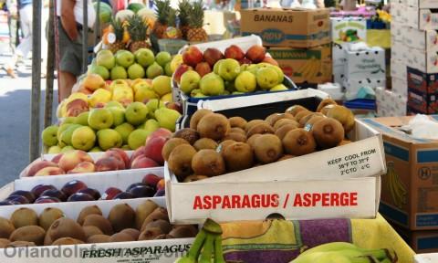 Celebration farmers market: Smaller market but still a good selection.
