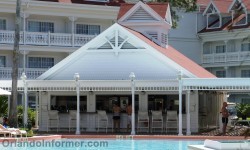 Disney's Grand Floridian Resort: Resort pool bar.