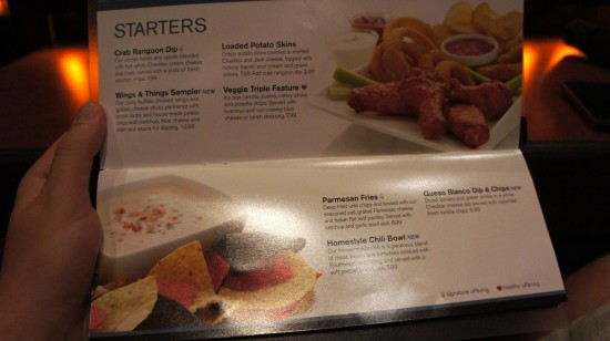 AMC Fork & Screen at Downtown Disney: Starters.
