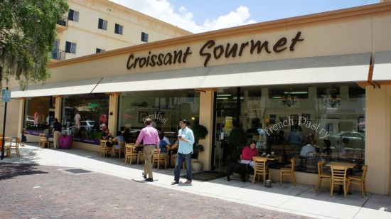 Croissant Gourmet Bakery in Winter Park, Florida.