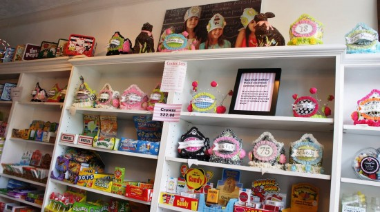 Sassafras Sweet Shoppe in Winter Park, Florida: A sampling of the selection.