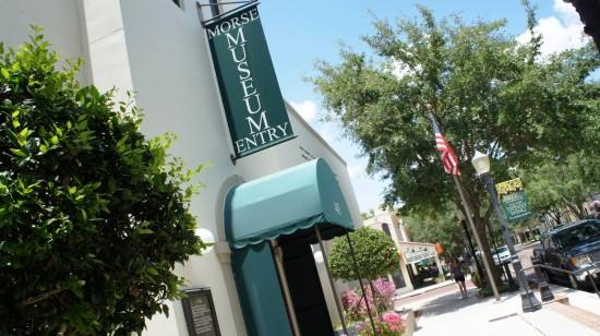 Morse Museum of American Art in Winter Park, Florida.
