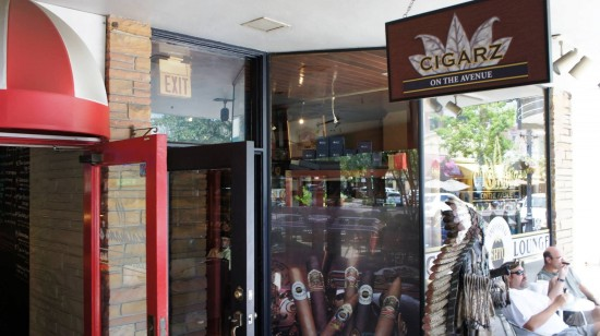Cigarz on the Avenue in Winter Park, Florida.