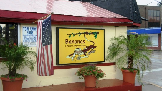 Bananas - A Modern American Diner: On a rainy Saturday afternoon.