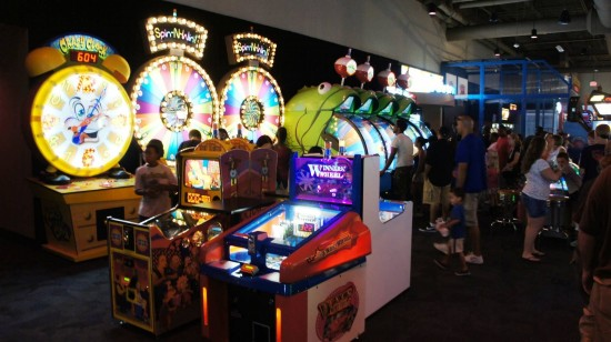 Dave & Busters Orlando on International Drive: Game floor.
