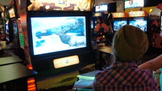 Dave & Busters Orlando on International Drive: Big Buck.