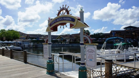 Downtown Disney trip report - July 2011: Cap'n Jack's Marina at Downtown Disney.