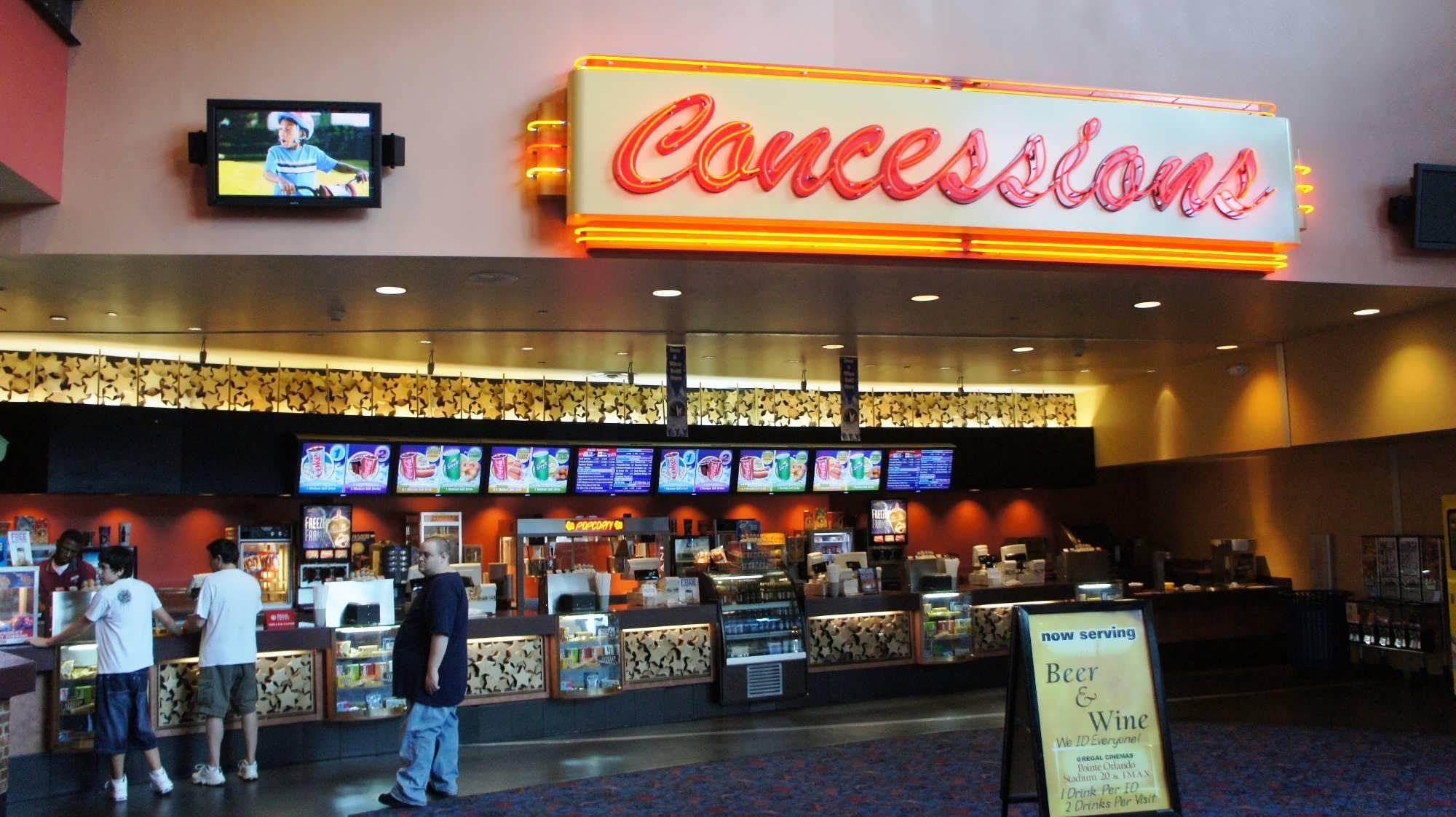 Regal Pointe Orlando Stadium Amp Imax Experience Movie