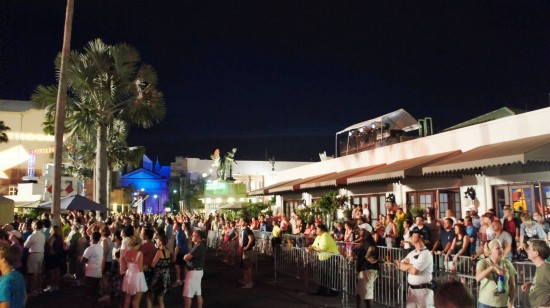 Universal Studios Florida Summer Concert Series 2011: Still plenty of room to move about.