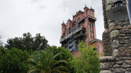 Twilight Zone Tower of Terrror at Disney's Hollywood Studios.