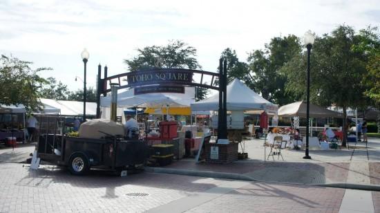 Downtown Kissimmee Farmers Market: Toho square.