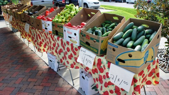 Downtown Kissimmee Farmers Market: Easy pickins.