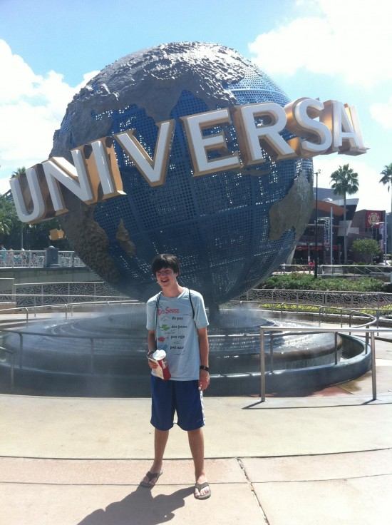 Rock the Universe at Universal Studios Florida: Gettin' ready for the best vacation ever.