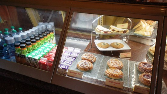 The School Bread experience at Epcot's Norway Pavilion: Look toward the back for the waffles.