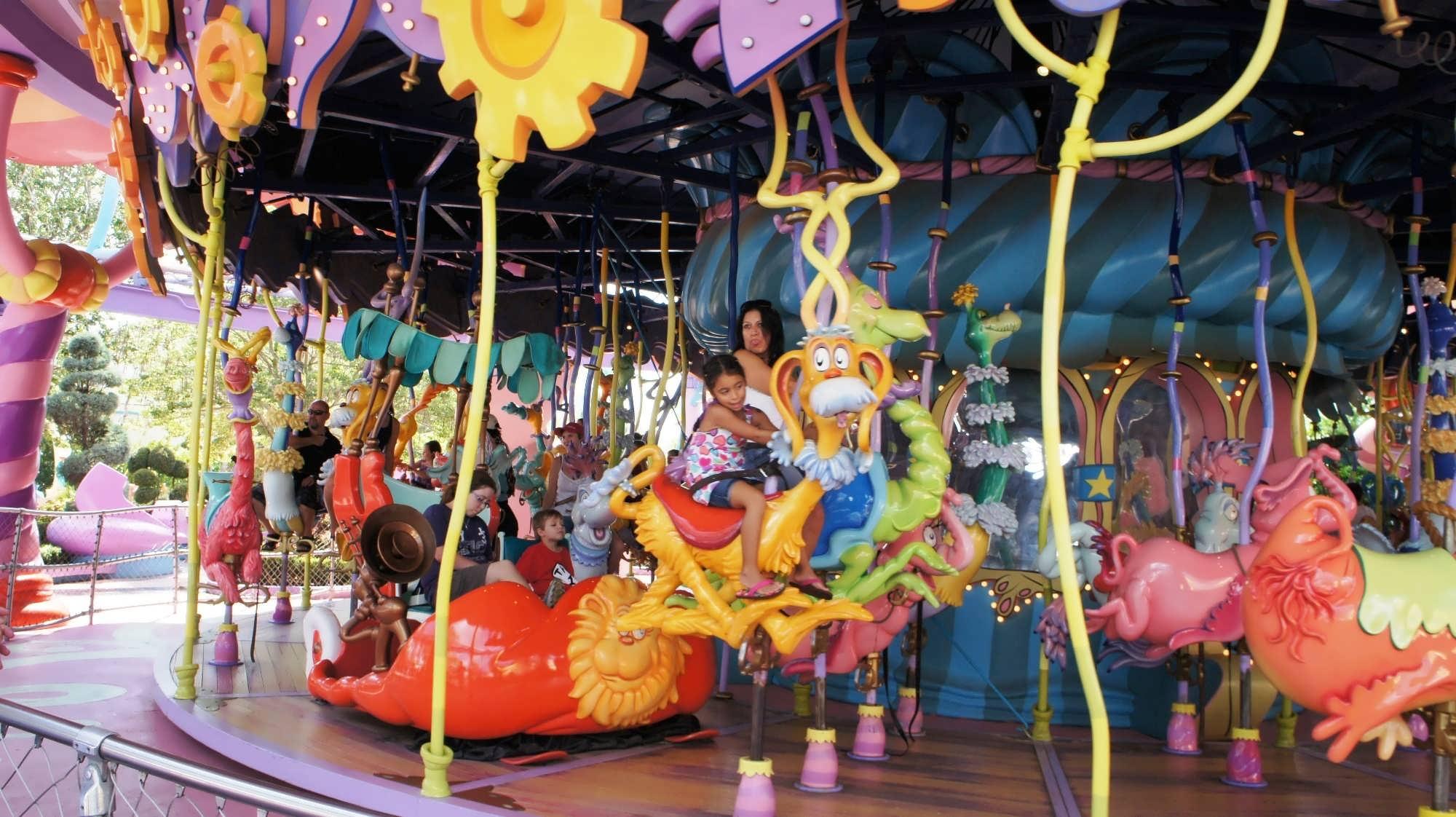 Caro-Seuss-el at Universal's Islands of Adventure.