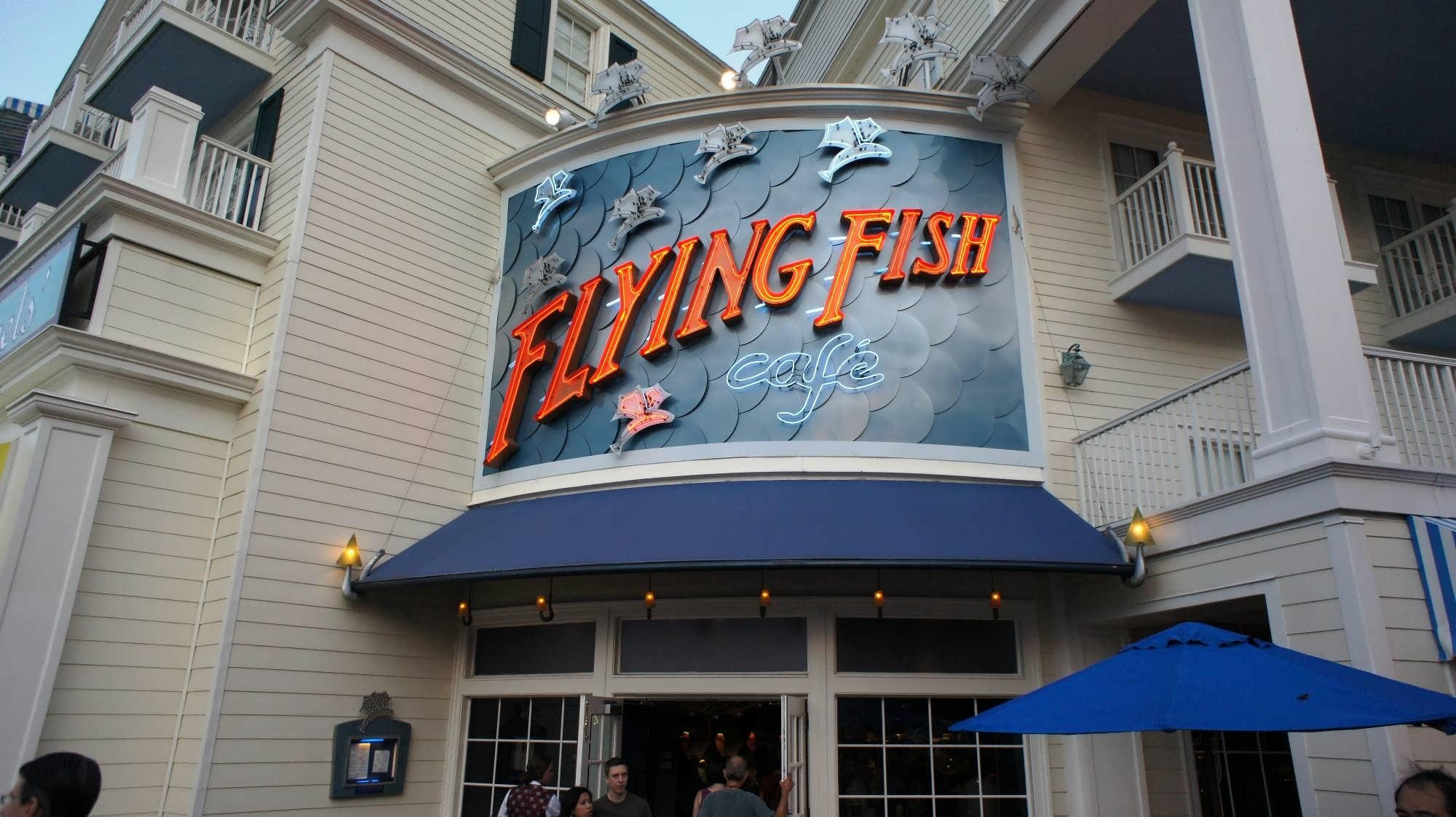 Flying Fish Restaurant Disneys