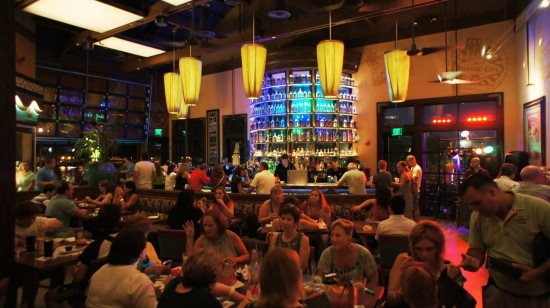 Paradiso 37 at Downtown Disney: Indoor space.