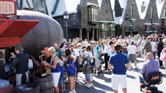 Wizarding World of Harry Potter trip report - November 2011.
