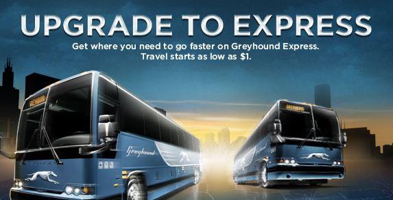 Greyhound express courtesy of greyhound com