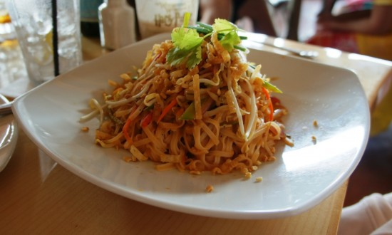 The Pad Thai at Mythos inside Universal's Islands of Adventure.