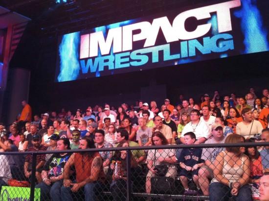 TNA IMPACT WRESTLING at Universal Studios Florida.