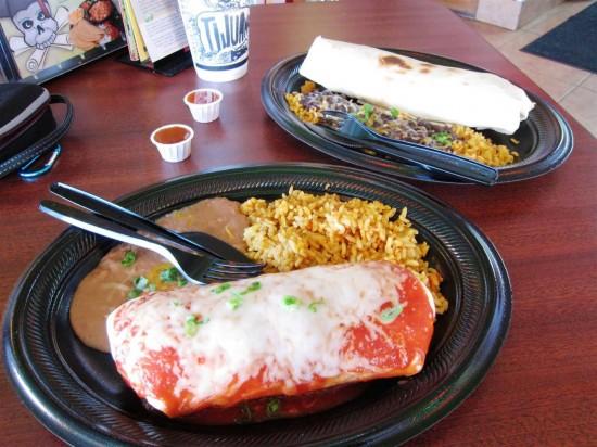 Tijuana Flats: The food.