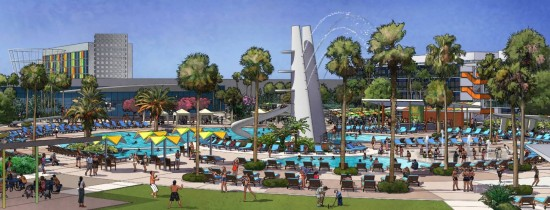 Universal Orlando's Cabana Bay Beach Resort.