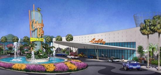 Universal Orlando Cabana Bay Beach Resort.