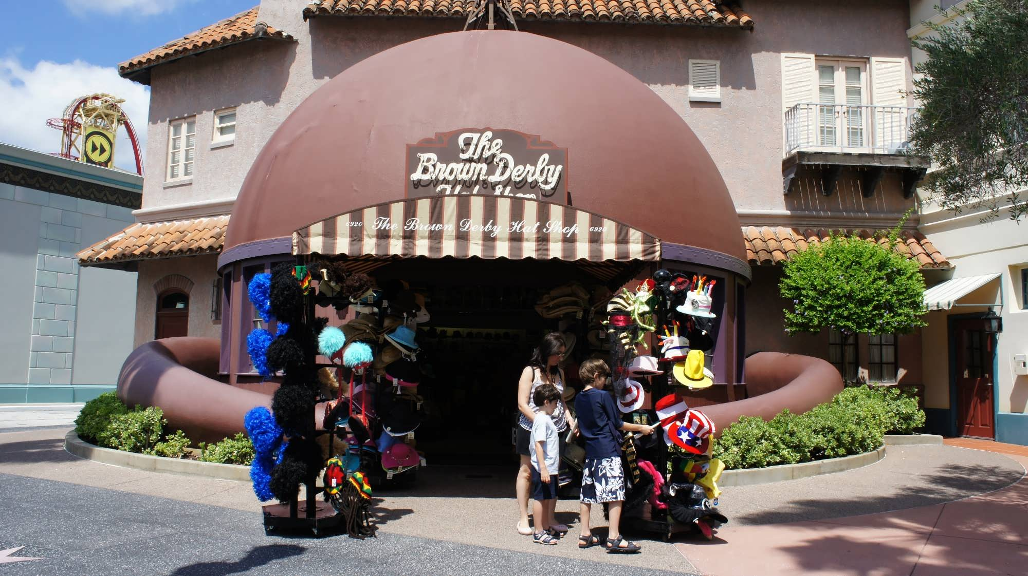 The Brown Derby hat shop at Universal Studios Florida.