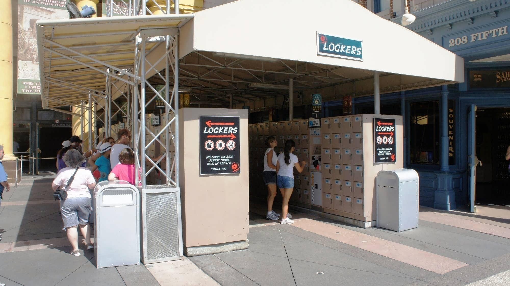 Lockers at Universal Orlando Resort