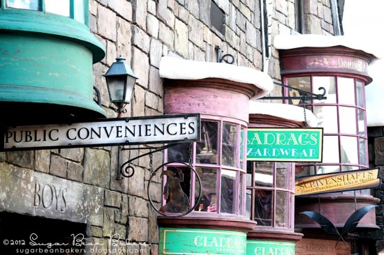 Hogsmeade Village inside the Wizarding World of Harry Potter.