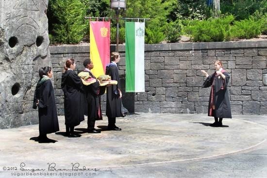 Hogsmeade Village inside the Wizarding World of Harry Potter.