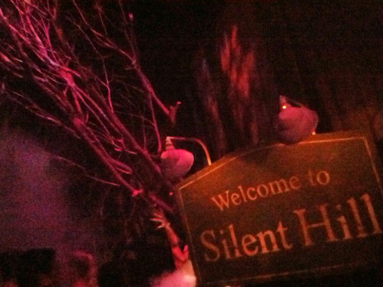 A peek inside the Silent Hill haunted house.