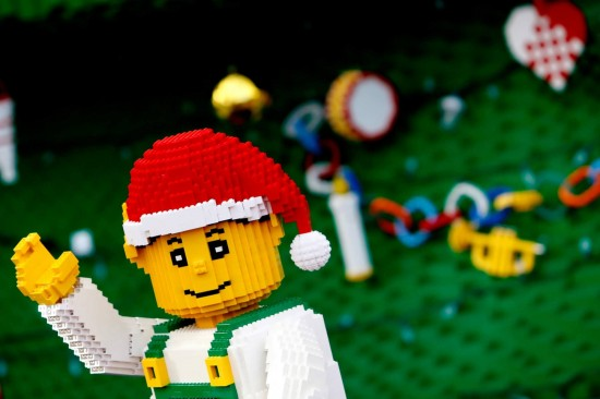 Christmas Bricktacular at Legoland Florida.