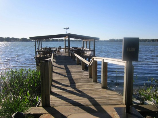 View from the Hillstone dock.