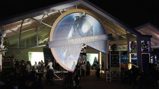 THE POLAR EXPRESS Experience at SeaWorld's Christmas Celebration.