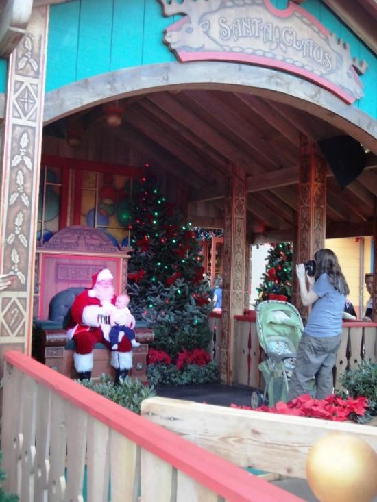 Christmas Shopping at Downtown Disney.