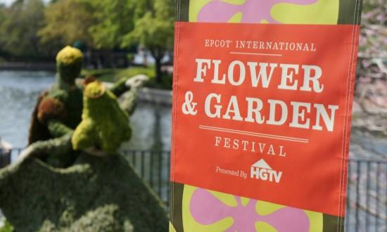 Epcot International Flower & Garden Festival.