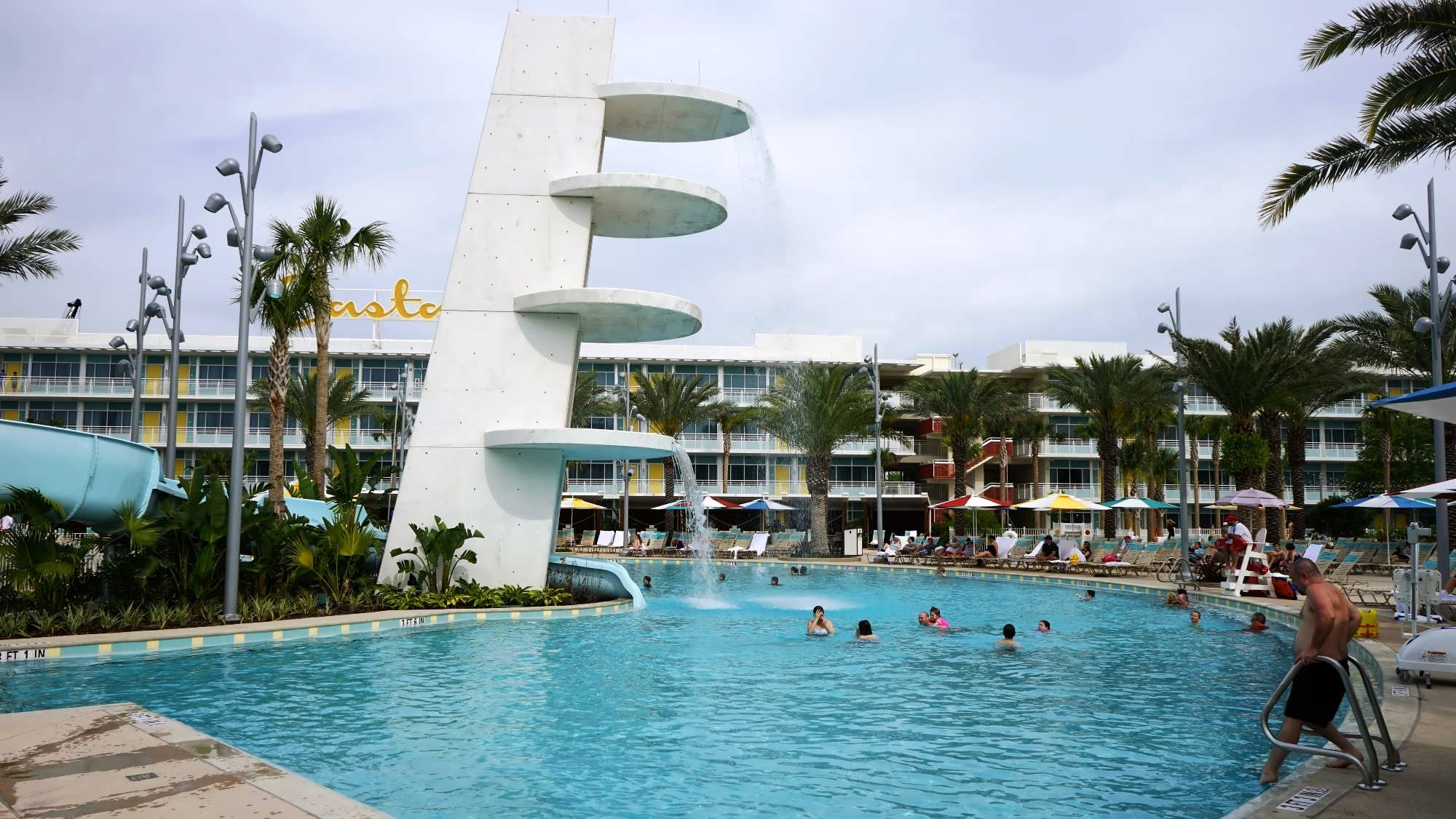 Is The Cabana Bay Beach Resort Pool Heated