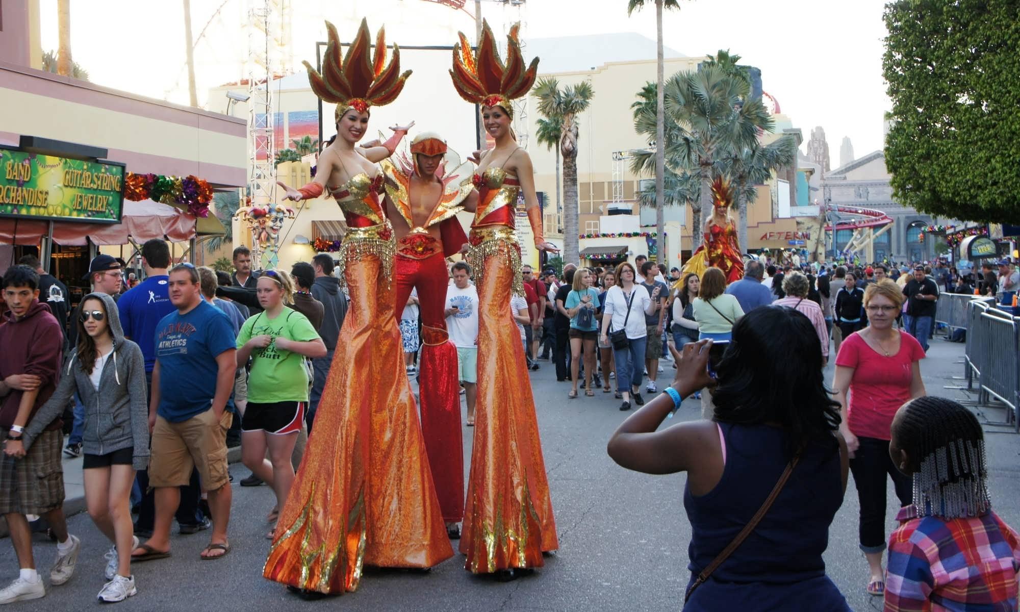 Universal Studios' Mardi Gras