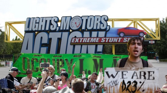 #Occupy Lights Motor Action!