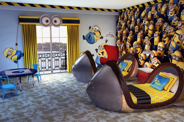 Resultado de imagen para loews portofino bay hotel minion room