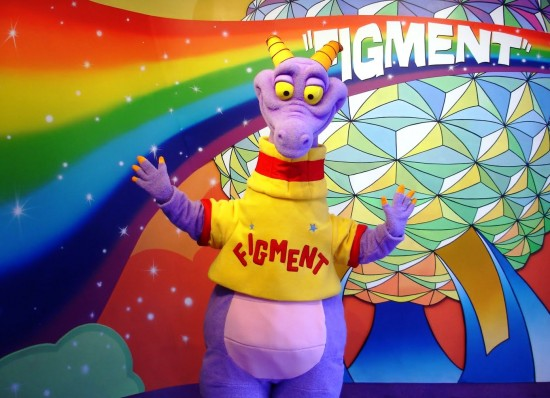 Figment at Epcot.